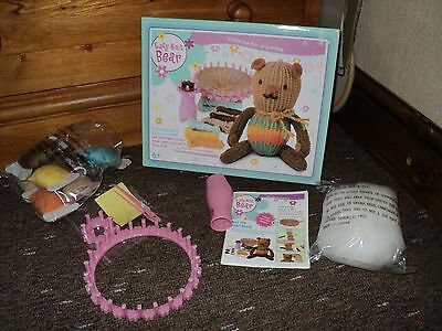 EASY KNIT BEAR  Kids Knitting - Knit Your Own Toy Bear