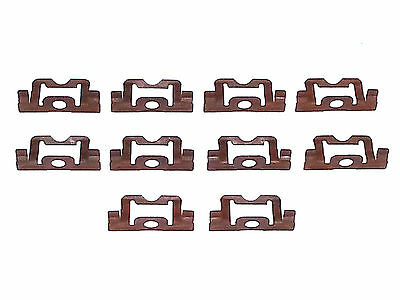 NOS Dodge Truck Front Windshield Rear Window Reveal Trim Molding Clips 10pc C