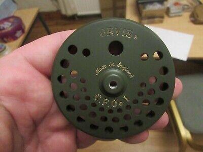 unused vintage frame orvis hardy CFO1 CFOI green click pawl fly fishing reel