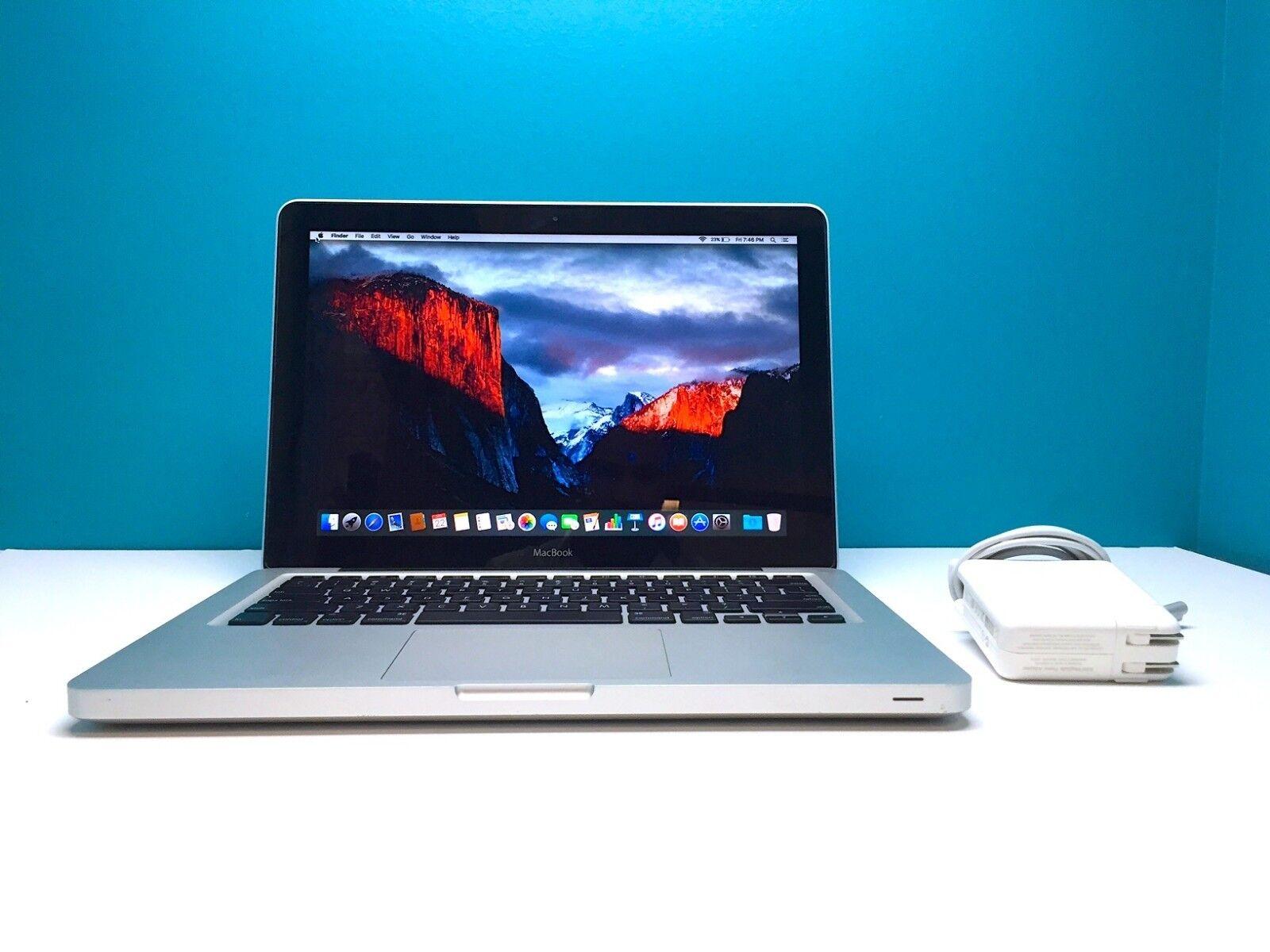 Apple MacBook Unibody 13 Inch Laptop Computer *BEST VALUE* OS-2017 - 1TB Storage
