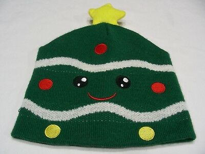 CHRISTMAS TREE - NOVELTY - ONE SIZE STOCKING CAP BEANIE HAT!