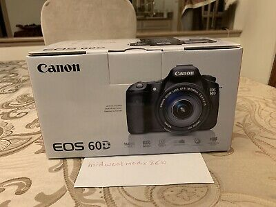 NEW Canon EOS 60D 18.0MP Digital SLR Camera - Black (Body Only)