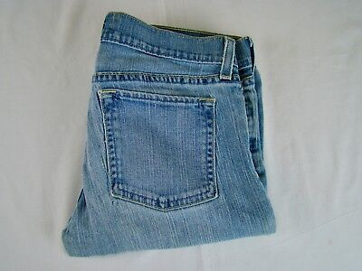 Old Navy Ultra Low Waist Stretch Women's Light Wash Jeans - Size 6 Long