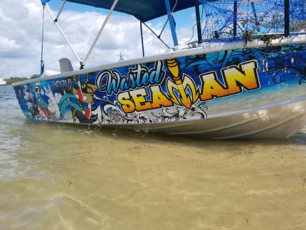 Boat tinny