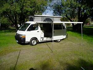1998 TOYOTA HIACE CAMPER - IMMACULATE , LOW KMS. NOW IN PERTH! Kingsley Joondalup Area Preview