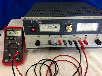 Kepco Adjustable Power Supply Mps 620m Tested - Multiple Power Outlets