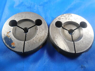 6 32 Unc 2a Thread Ring Gages 6 .138 Go No Go P.d.s .1169 .1141 Inspection