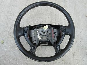 2005 cadillac deville steering wheel w switches black. Black Bedroom Furniture Sets. Home Design Ideas