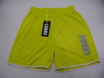 Lab84 Kostüm Shorts Dryfit SHTU1008FLUO gelb
