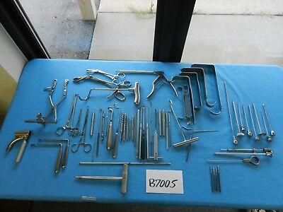 Codman Zimmer V. Mueller Surgical Orthopedic Instrument Set