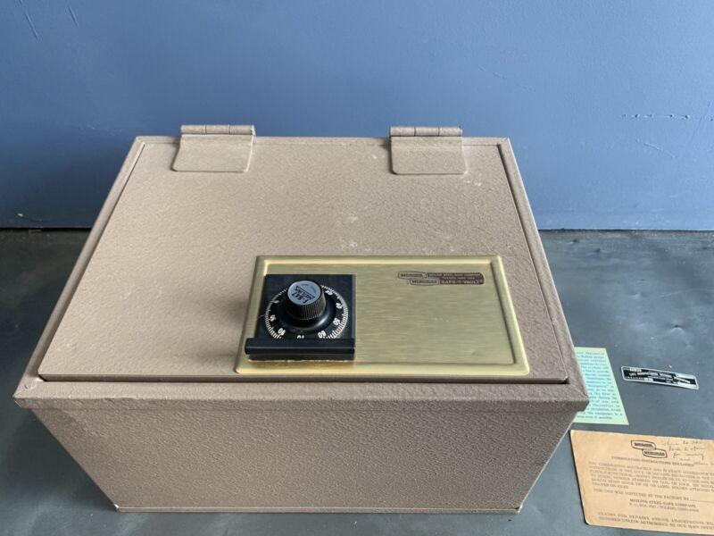Vintage Melink Hercules Steel Combination Safe-T-Vault