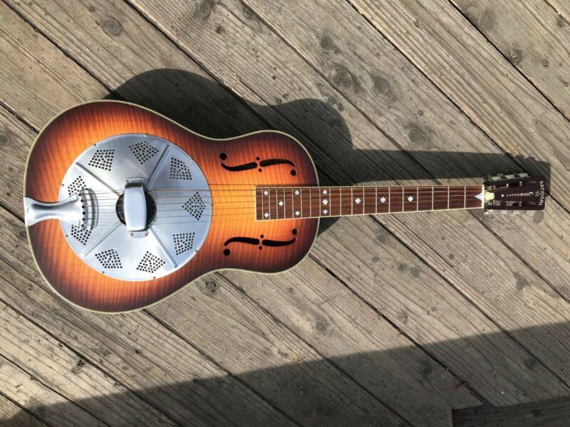 National Estralita resonator guitar DLX - 2001 Serial #001