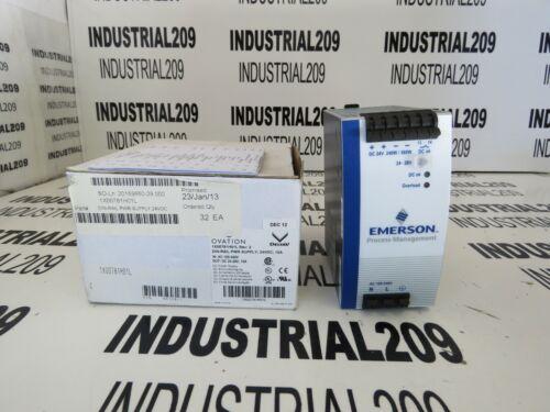 EMERSON OVATION 1X00781H01L DIN RAIL 24 VDC NEW IN BOX