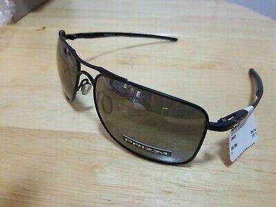 Oakley Gauge 8 OO4124-0262 Matte Black Frame / Prizm Black Polarized Lenses