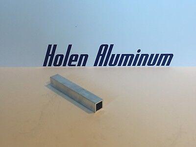1-34 X 1-34 X 18 X 48 Long Square Aluminum Tubing 6063-t52