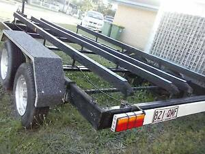 """HEAVEY DUTY 20FT BOAT TRAILER/DUEL WHEELS """"BARGAIN"""" Helensvale Gold Coast North Preview"""