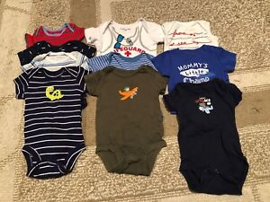 Lot 0-3 month clothing