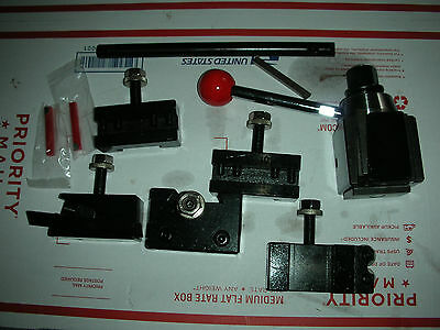 New Premium Atlas Craftsman 9-12 Lathe Quick Change Tool Post Settooling New