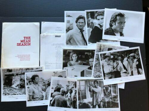 The Mean Season (1984) - Movie Press Kit Envelope w/Press Photos & News