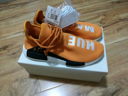 Adidas NMD HU Human Race Pharrell Williams PW Tangerine US11