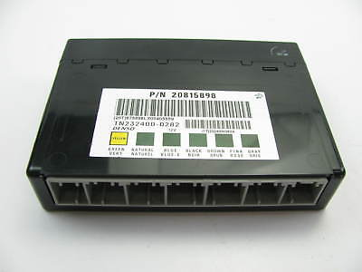 NEW - OUT OF BOX OEM GM 20815898 Body Control Module BCM