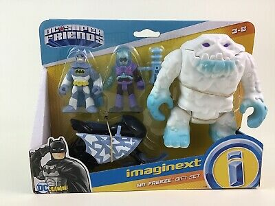 DC Super Friends Imaginext Mr Freeze Gift Set Toy Clayface Figures Fisher Price