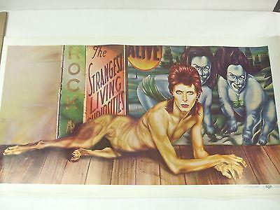 Vintage David Bowie - Diamond Dogs Tour poster PEELLAERT - Large Original NICE