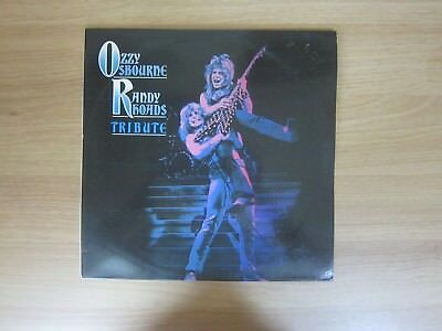 OZZY OSBOURNE Randy Rooads Tribute 10 Tracks Korea White Label Promo LP