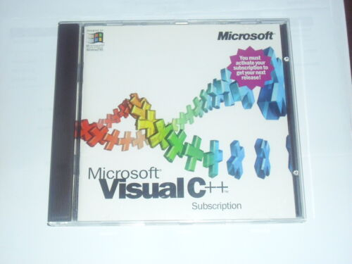 Microsoft Visual C++ Professional 4.0 with Software Key