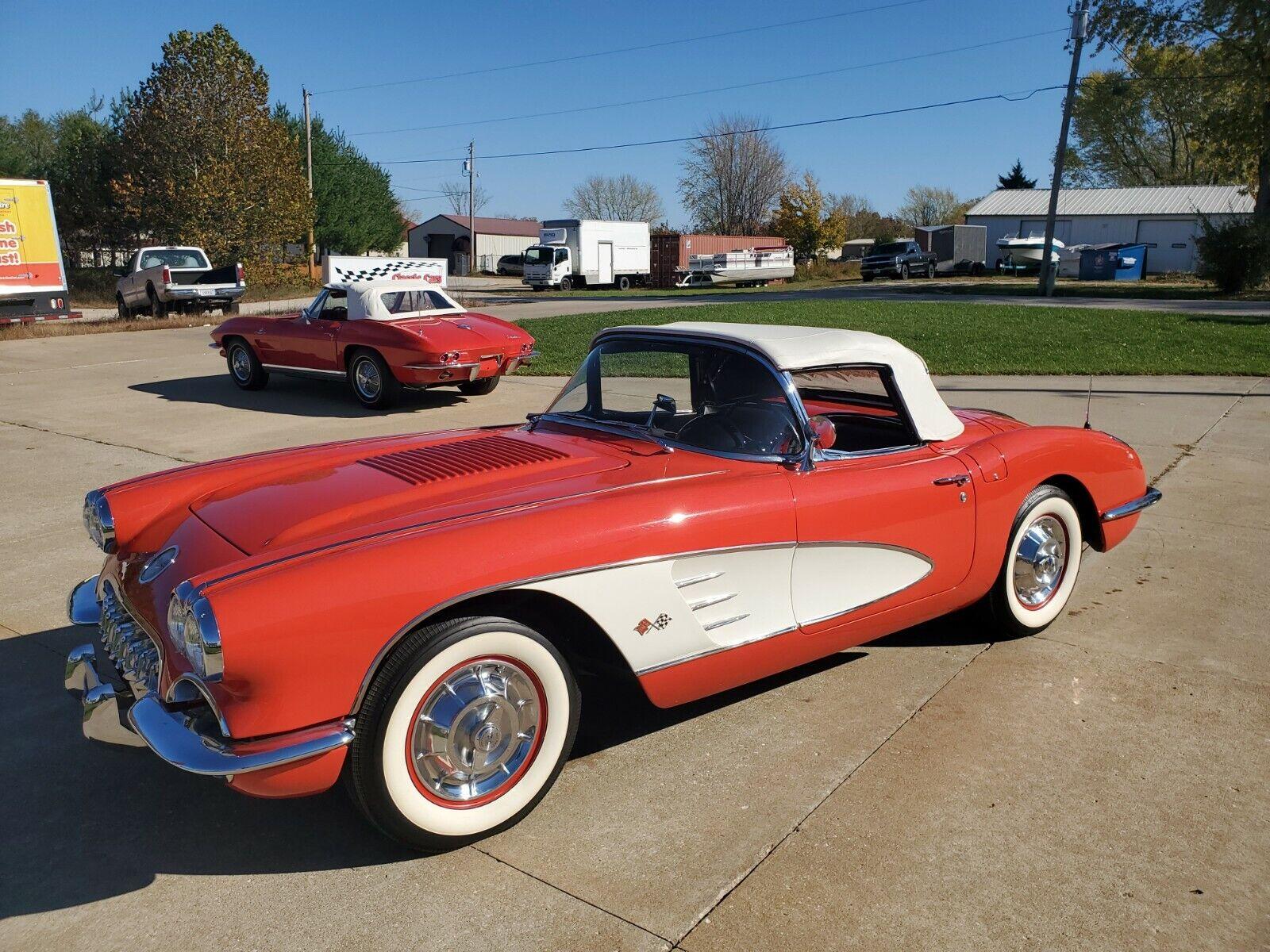1958 SIGNET RED Chevrolet Corvette   | C1 Corvette Photo 1