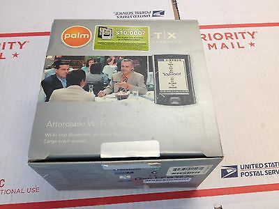 Palm TX T/X PDA Handheld Pocket PC w/ AC Adapter in Original Box
