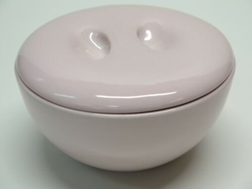 "Russel Wright Iroquois Casual China Pink 5"" Covered Cereal Soup Bowl Lid"