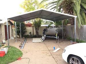 New  carport  6 x 6  $ 1650 or 6 x 9  $2500 Ingleburn Campbelltown Area Preview