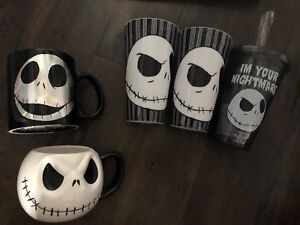 """Nightmare Before Christmas"" cup collection"