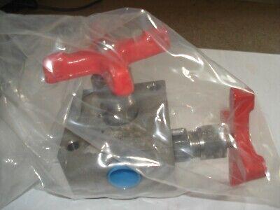 Imperial Eastman Manifold - Block Bleed C.s. 2 Valve 3600 1500 P.s.i
