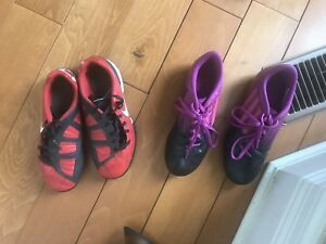 Kids Soccer Cleats - Size 3.5 and 5