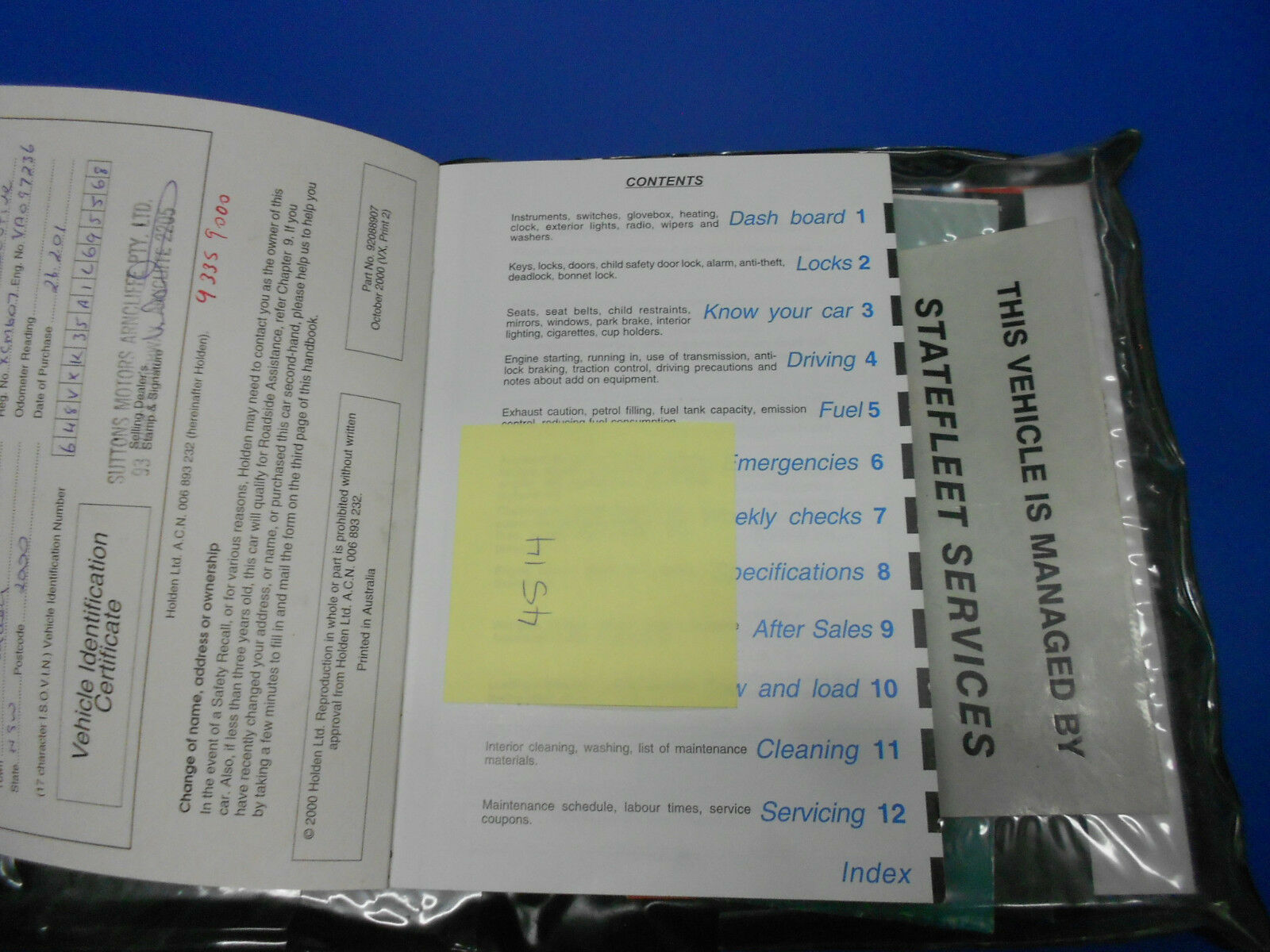 vx commodore owners manual pdf