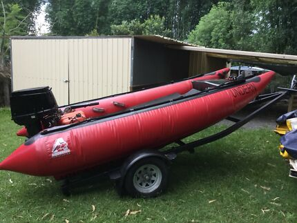 Thundercat 50HP & Trailer