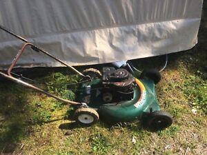 3.5 hp lawn mower