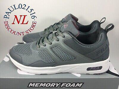 FILA Frame V6 Memory Foam Sneakers Women's Shoes ~ Gray ~ Various Sizes !!