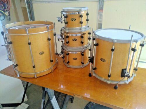 Bison Drum Company nineteen ninety nine 1999 Natural Maple