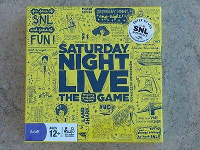 New & Sealed SATURDAY NIGHT LIVE Adult Board Game, Discovery Bay Games, Exp Ship - Adult Game Night Games