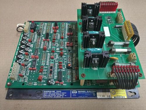 Warner Q7006 DC Motor Drive Power Circuit Board