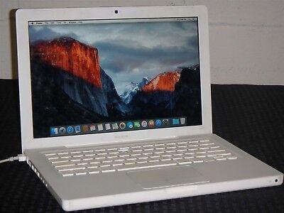 """13"""" Apple MacBook 2.0GHz Core 2 Duo 2GB 120GB Mac OS X 10.11 A1181 2009"""