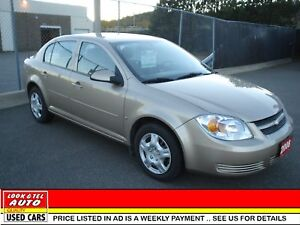 2008 Chevrolet Cobalt  as low as $83.80 a week for  12 mths only
