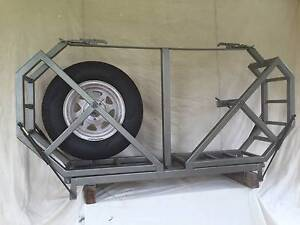 4WD Spare Tyre Rack for 2 tyres Perth Perth City Area Preview