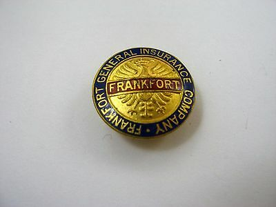 Rare Vintage Collectible Pin  Frankfort General Insurance Company