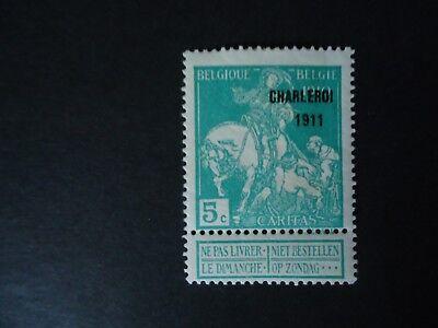Belgique Belgîe Belgium year1911 cob: 105 MH*