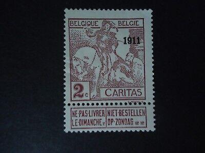Belgique Belgîe Belgium year1911 cob: 94 MH*