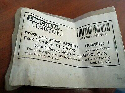 Lincoln Electric Gas Diffusermagnum Sg Spool Gun.